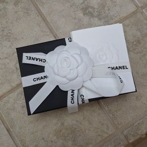 CHANEL Bags - Chanel Black Trifold Mini Flap Small Wallet /Coin